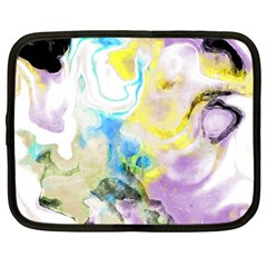 Watercolour Watercolor Paint Ink Netbook Case (large)