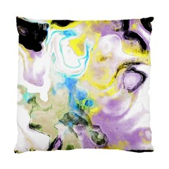Watercolour Watercolor Paint Ink Standard Cushion Case (two Sides)