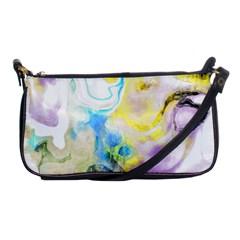 Watercolour Watercolor Paint Ink Shoulder Clutch Bags