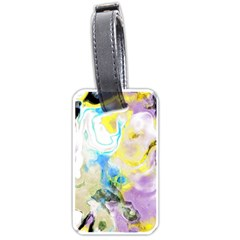 Watercolour Watercolor Paint Ink Luggage Tags (two Sides)