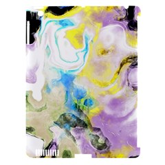 Watercolour Watercolor Paint Ink Apple Ipad 3/4 Hardshell Case (compatible With Smart Cover)