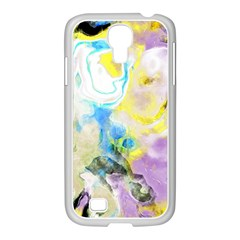 Watercolour Watercolor Paint Ink Samsung Galaxy S4 I9500/ I9505 Case (white)