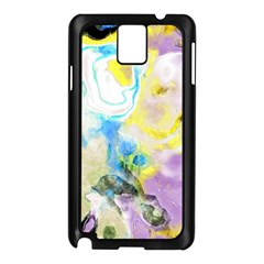 Watercolour Watercolor Paint Ink Samsung Galaxy Note 3 N9005 Case (black)