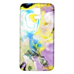 Watercolour Watercolor Paint Ink Samsung Galaxy S5 Back Case (white)