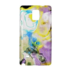 Watercolour Watercolor Paint Ink Samsung Galaxy Note 4 Hardshell Case