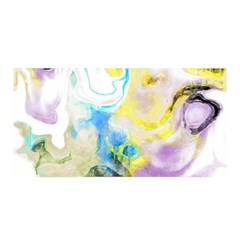 Watercolour Watercolor Paint Ink Satin Wrap