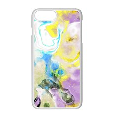 Watercolour Watercolor Paint Ink Apple Iphone 7 Plus Seamless Case (white)