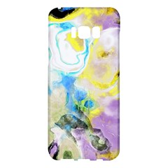 Watercolour Watercolor Paint Ink Samsung Galaxy S8 Plus Hardshell Case