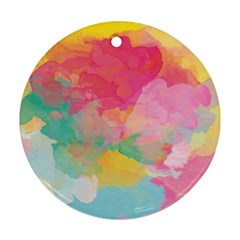 Watercolour Gradient Ornament (round)