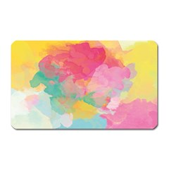 Watercolour Gradient Magnet (rectangular)