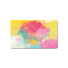 Watercolour Gradient Magnet (name Card)