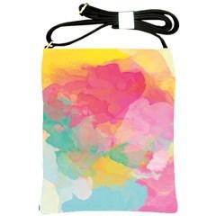 Watercolour Gradient Shoulder Sling Bags