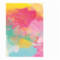Watercolour Gradient Small Garden Flag (two Sides)