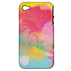 Watercolour Gradient Apple Iphone 4/4s Hardshell Case (pc+silicone)
