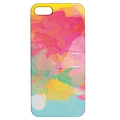 Watercolour Gradient Apple Iphone 5 Hardshell Case With Stand