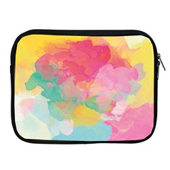 Watercolour Gradient Apple Ipad 2/3/4 Zipper Cases