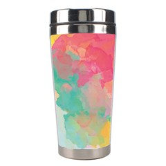 Watercolour Gradient Stainless Steel Travel Tumblers