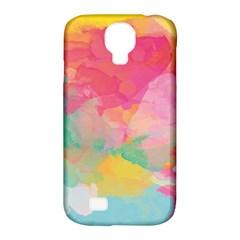 Watercolour Gradient Samsung Galaxy S4 Classic Hardshell Case (pc+silicone)