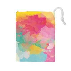 Watercolour Gradient Drawstring Pouches (large)