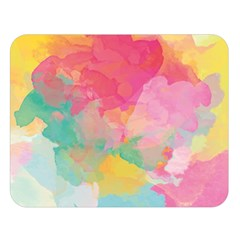 Watercolour Gradient Double Sided Flano Blanket (large)