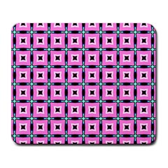 Pattern Pink Squares Square Texture Large Mousepads