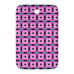 Pattern Pink Squares Square Texture Samsung Galaxy Note 8 0 N5100 Hardshell Case