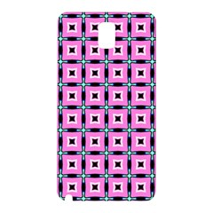 Pattern Pink Squares Square Texture Samsung Galaxy Note 3 N9005 Hardshell Back Case