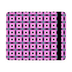 Pattern Pink Squares Square Texture Samsung Galaxy Tab Pro 8 4  Flip Case