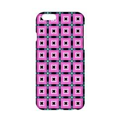Pattern Pink Squares Square Texture Apple Iphone 6/6s Hardshell Case