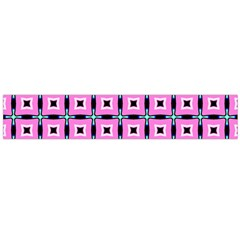 Pattern Pink Squares Square Texture Large Flano Scarf