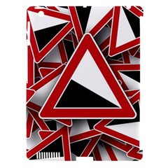 Road Sign Auto Gradient Down Below Apple Ipad 3/4 Hardshell Case (compatible With Smart Cover)