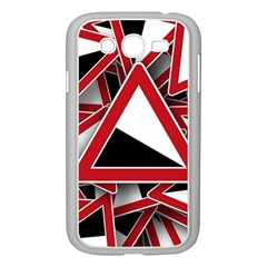 Road Sign Auto Gradient Down Below Samsung Galaxy Grand Duos I9082 Case (white)