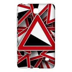 Road Sign Auto Gradient Down Below Samsung Galaxy Tab 4 (8 ) Hardshell Case