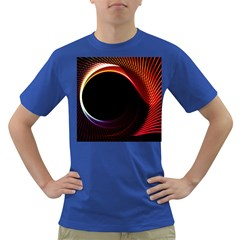 Grid Bent Vibration Ease Bend Dark T Shirt