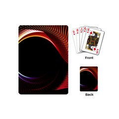Grid Bent Vibration Ease Bend Playing Cards (mini)