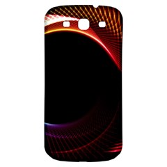 Grid Bent Vibration Ease Bend Samsung Galaxy S3 S Iii Classic Hardshell Back Case