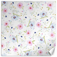 Floral Pattern Background Canvas 16  X 16