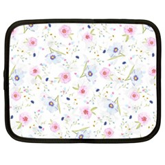 Floral Pattern Background Netbook Case (xxl)