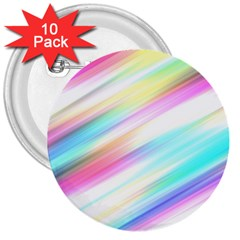Background Course Abstract Pattern 3  Buttons (10 Pack)