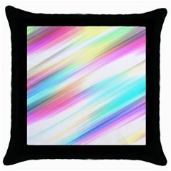 Background Course Abstract Pattern Throw Pillow Case (black)