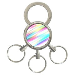 Background Course Abstract Pattern 3 Ring Key Chains