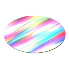 Background Course Abstract Pattern Oval Magnet