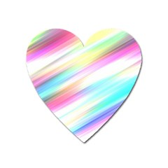 Background Course Abstract Pattern Heart Magnet
