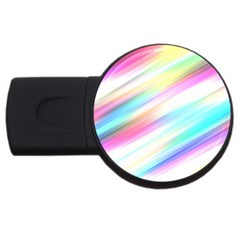 Background Course Abstract Pattern Usb Flash Drive Round (2 Gb)