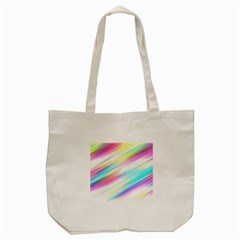 Background Course Abstract Pattern Tote Bag (cream)