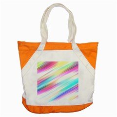 Background Course Abstract Pattern Accent Tote Bag