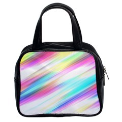 Background Course Abstract Pattern Classic Handbags (2 Sides)