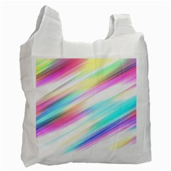 Background Course Abstract Pattern Recycle Bag (one Side)
