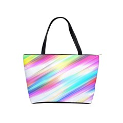 Background Course Abstract Pattern Shoulder Handbags