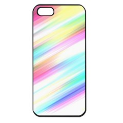 Background Course Abstract Pattern Apple Iphone 5 Seamless Case (black)